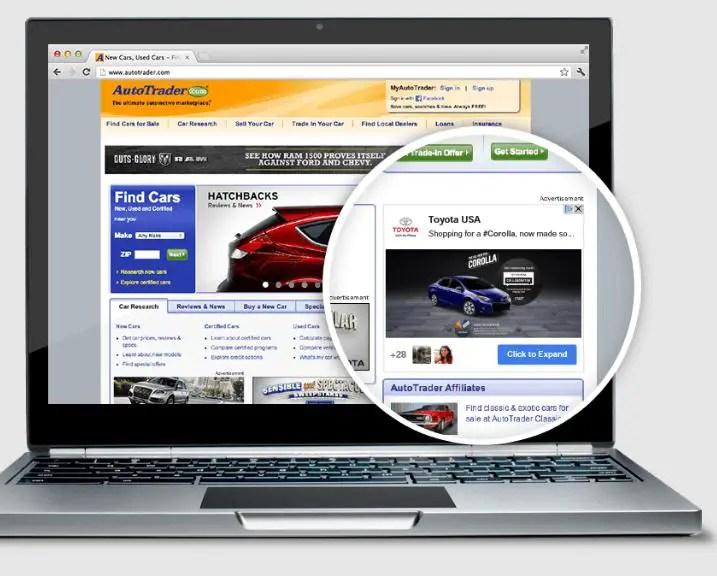 toyota +post ads google+