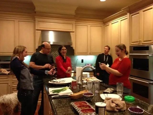 Zuckerberg-Family on 2012 holidays