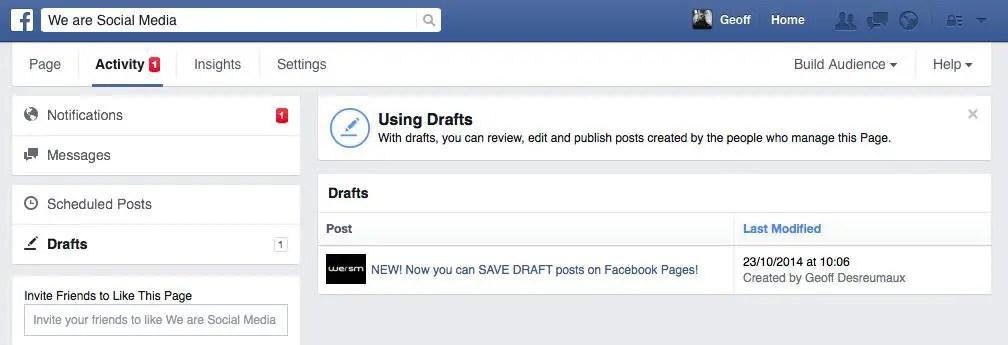 wersm-facebook-draft-post-saved