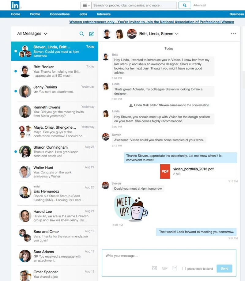 wersm-1-linkedin-gets-a-brand-new-messaging-system