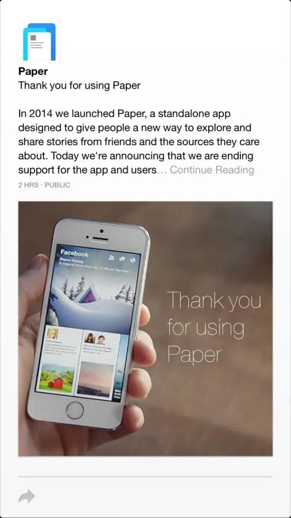 Down app facebook