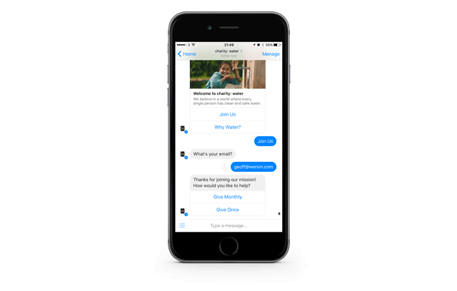 wersm-charity-water-assist-facebook-messenger-conversation-bot