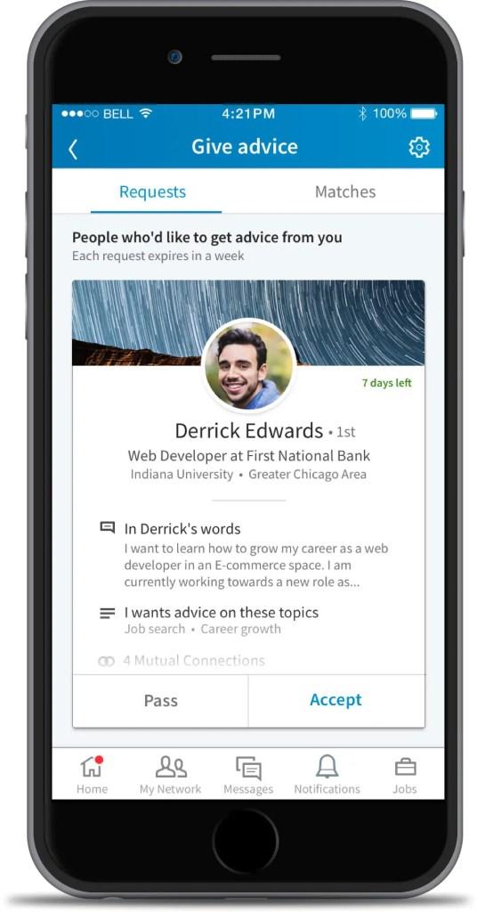 wersm linkedin mentorship screenshot 1