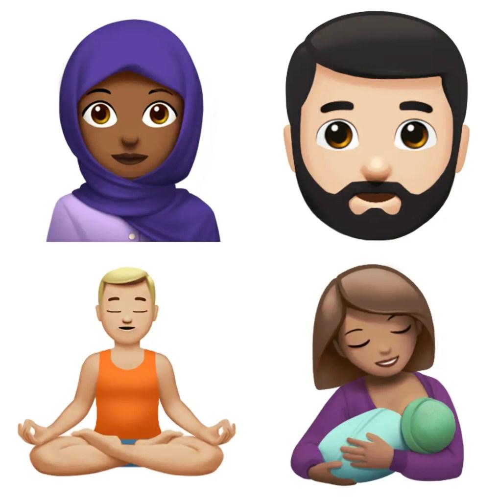 wersm apple emoji ios 11.1 2