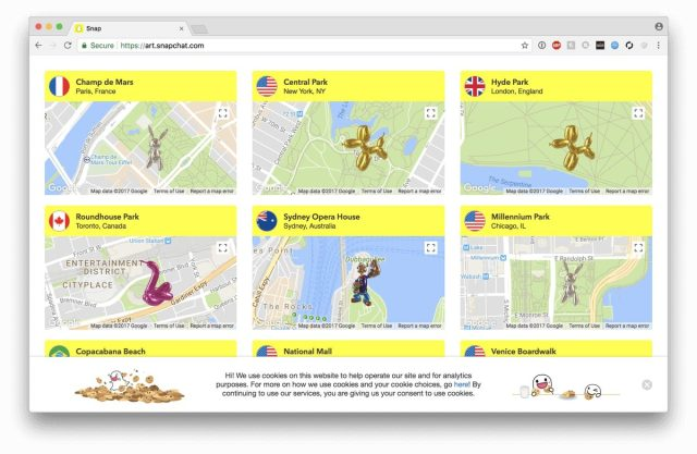 wersm-snapchat-art-platform-map