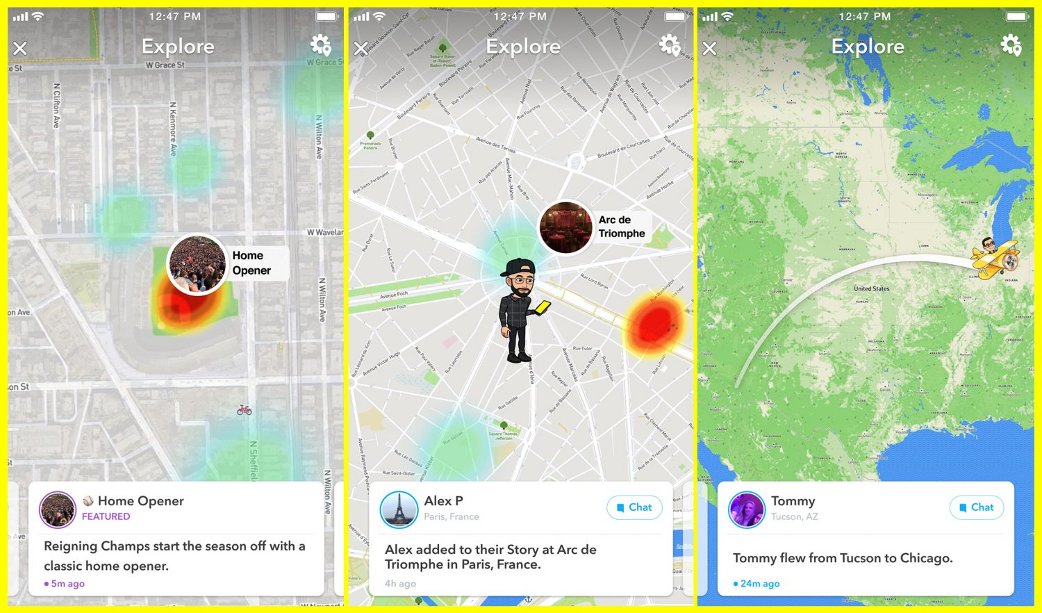 Snapchat Upgrades Snap Map With New Map Explore Feature Featured