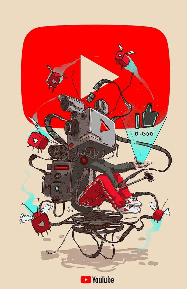 wersm-social-media-humanoid-youtube