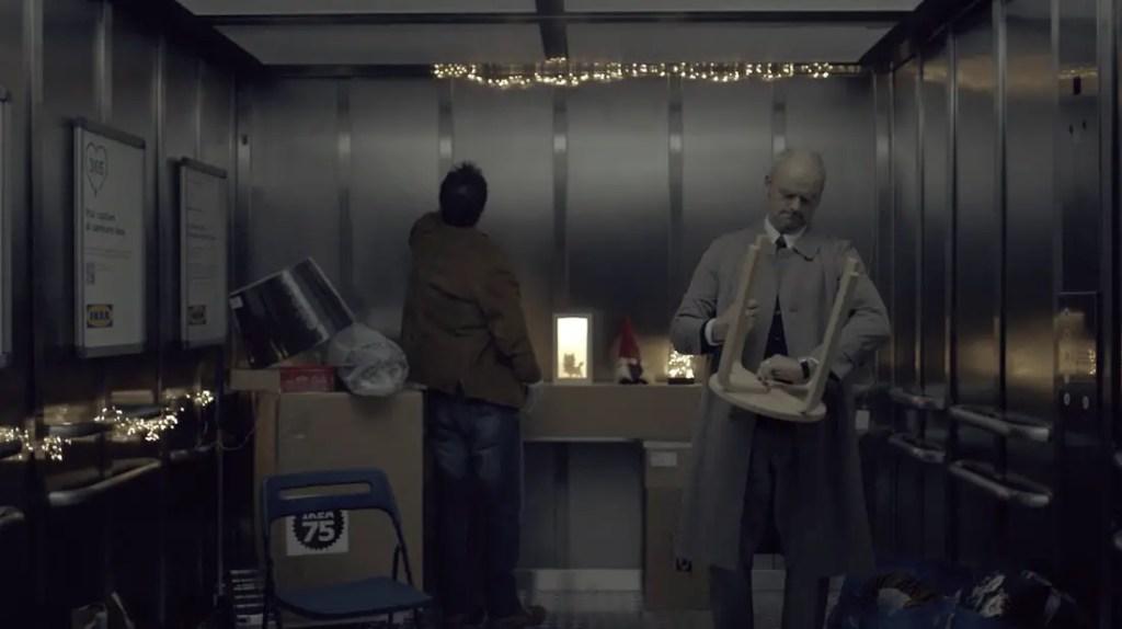 wersm IKEA italy christmas elevator 5