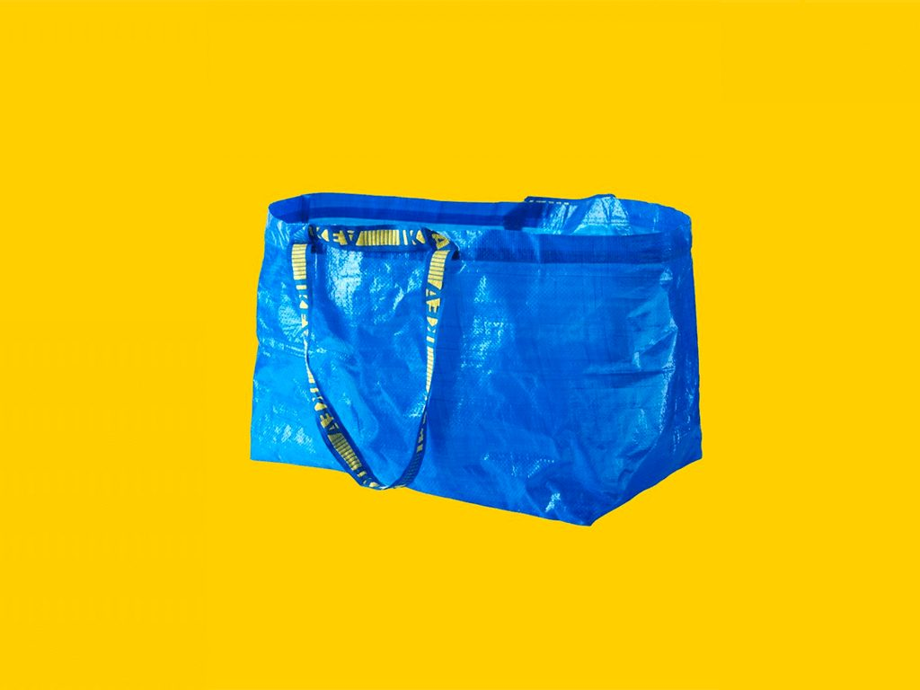 70f84d3096 People Are Making Apparel Out Of 99-Cent IKEA Bags • Social Fun • WeRSM -  We are Social Media