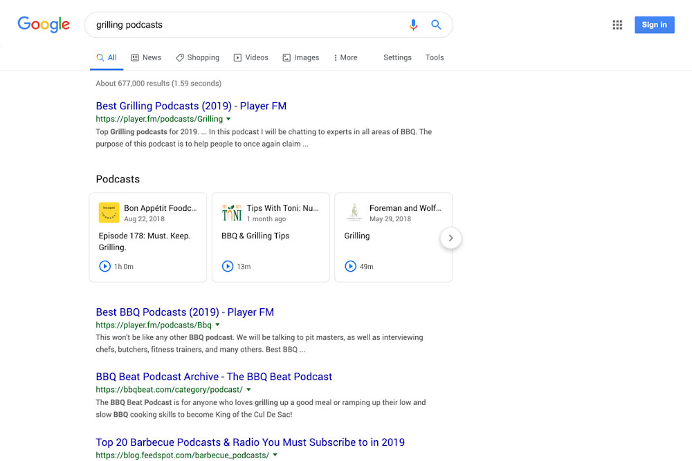 Google Is Making It Easier To Find And Listen To Podcasts On Search