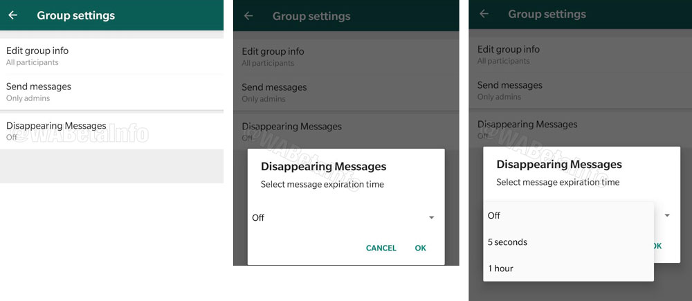 WhatsApp Is Working On A New 'Disappearing Messages' Feature