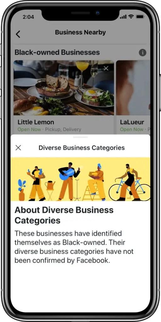 Facebook black owned businesses