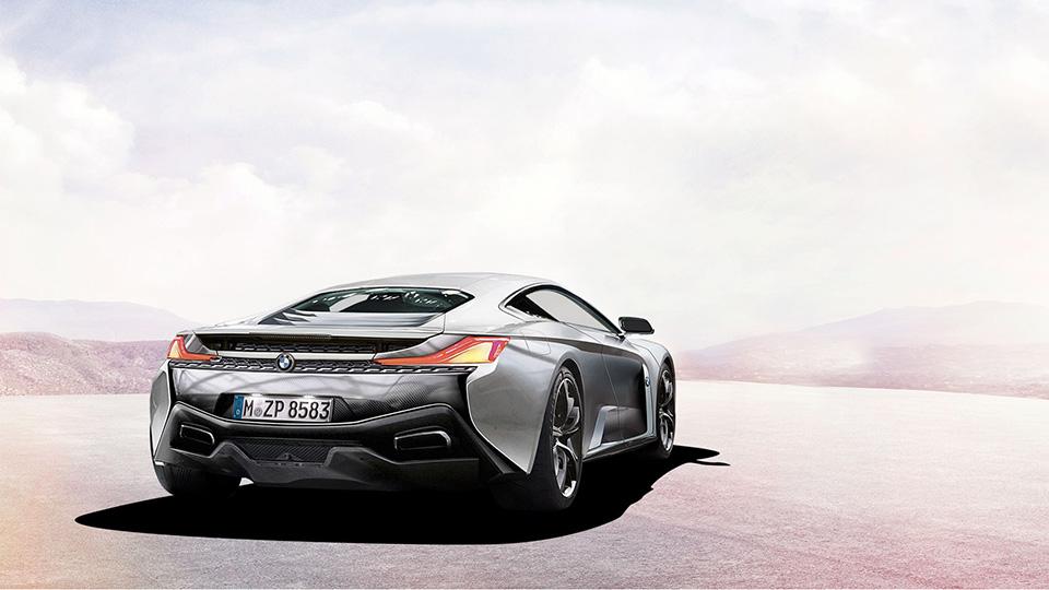 Предполагаемый внешний вид совместного суперкара McLaren и BMW. Иллюстрация с сайта carmagazine.co.uk