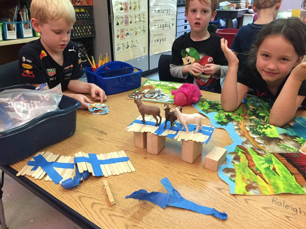 The Three Billy Goats Gruff And Planting