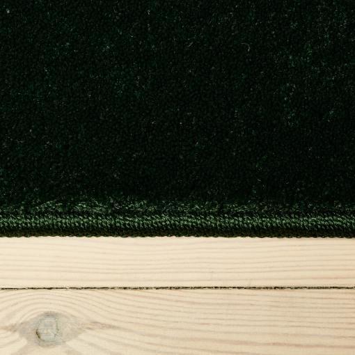 emerald green tæppe med kant fra WeRug