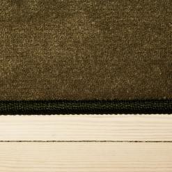 forårsgrønt tæppe med kant