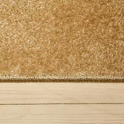 blødt lyst tæppe fra WeRug i farven lys beige