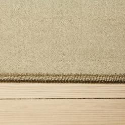 lysegrå tæppe med kant