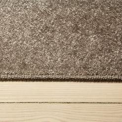 Sølvfarvet tæppe fra WeRug