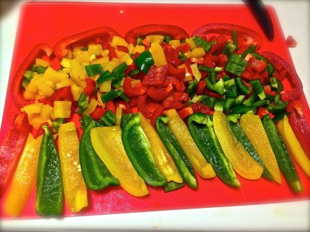 chopped paprika