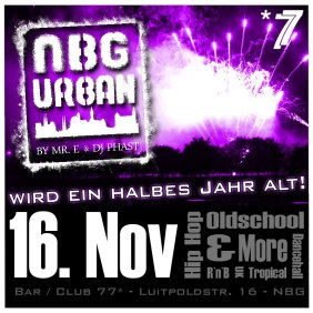 "Mr. E at NBG Urban ""NBG Urban wird ein halbes Jahr alt"" Club / Bar *77, Nürnberg Germany"