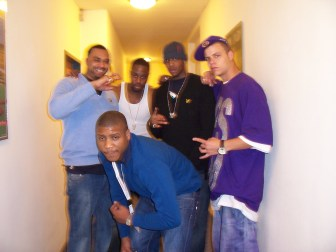 With S.A.S Dipset Eurogang in Vienna