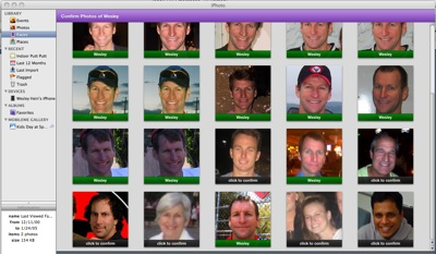 iPhoto's Facial Recognition Has Some Kinks
