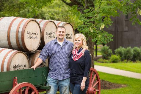 Maker's Mark Distillery Engagement Session