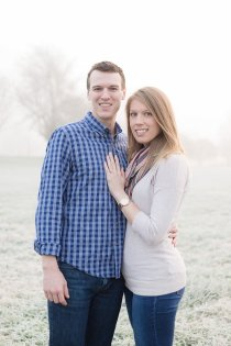 Scott+Sarah - Engagement Session at Keeneland in Lexington, KY