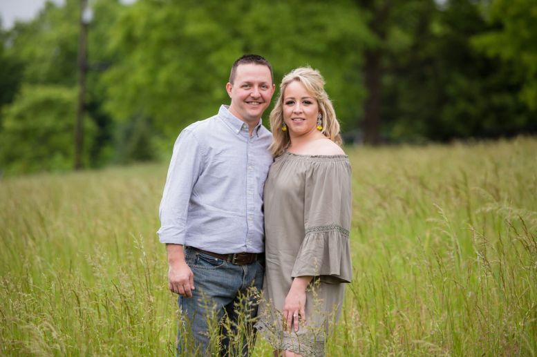 Lexington Kentucky Family Farm Engagement Session