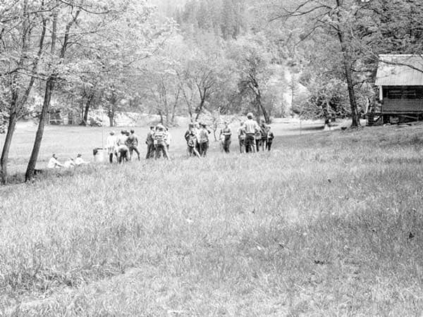 1960s Photo of people at WES Camp