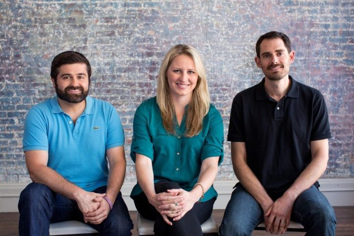 Indiegogo founders pictured from left to right, Slava Rubin, Danae Ringelmann & Eric Schell. Courtesy photo