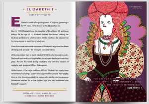 "Elizabeth I, a story in ""Good Night Stories for Rebel Girls."" Courtesy photo"