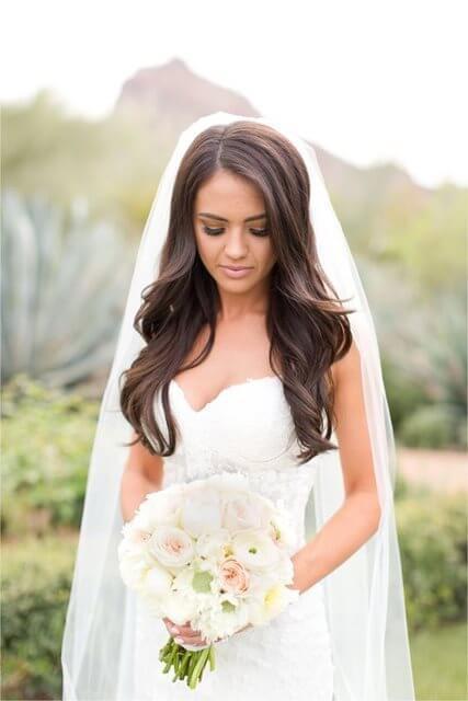 Fryzury ślubne I Weselne Rozpuszczone Włosy Na ślub A Czemu Nie