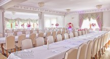 dekoracja na ślub - Kryształowy Dworek w Zbychowie