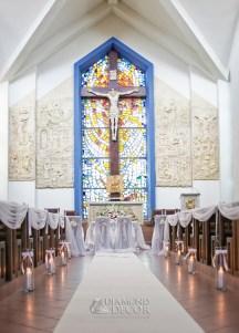dekoracja kościoła - Rumia