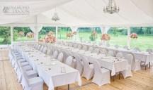 dekoracja namiotu - wesele w Hotelu Wieniawa