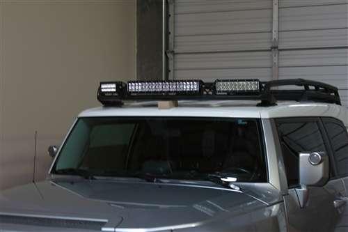 LED балка, светодиодная фара на багажнике toyota