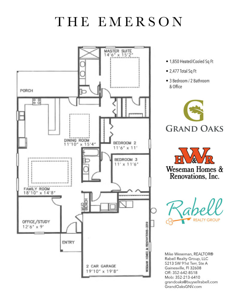 Grand Oaks Floor Plans - Emerson