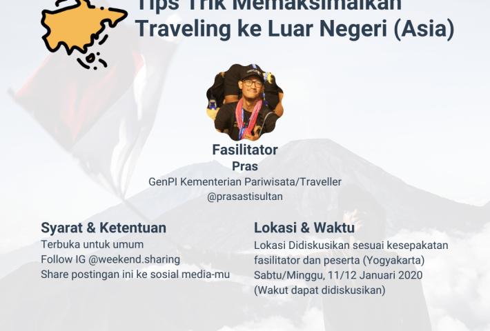 Tips Trik Memaksimalkan Traveling ke Luar Negeri (Asia)