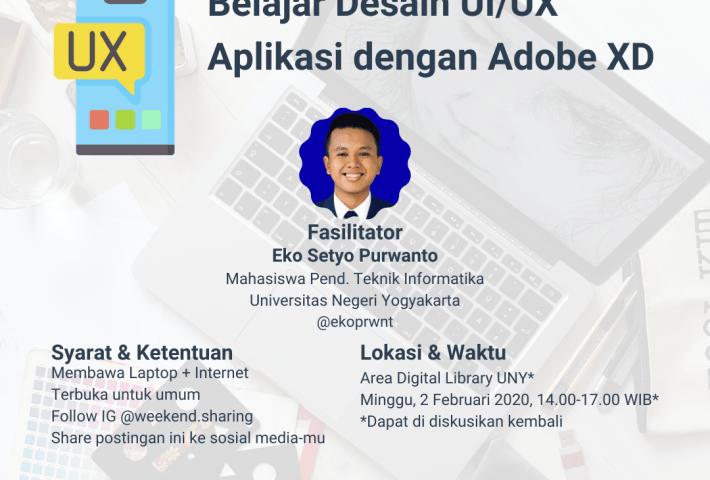 Belajar Desain UI/UX Aplikasi dengan Adobe XD