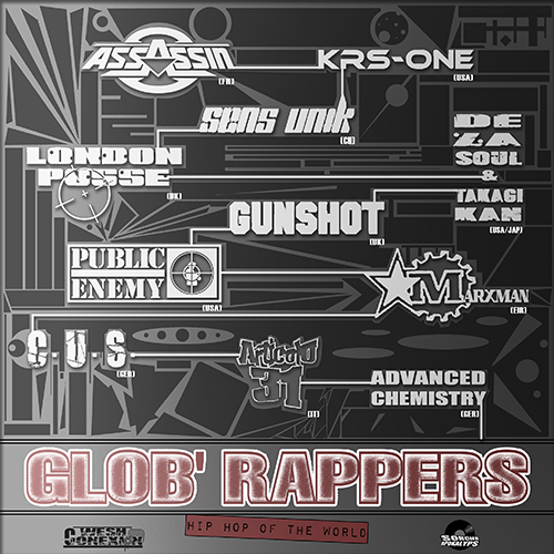 Wesh Conexion - Glob' Rappers (HH Of The World) (by Sorcier Apokalyps)