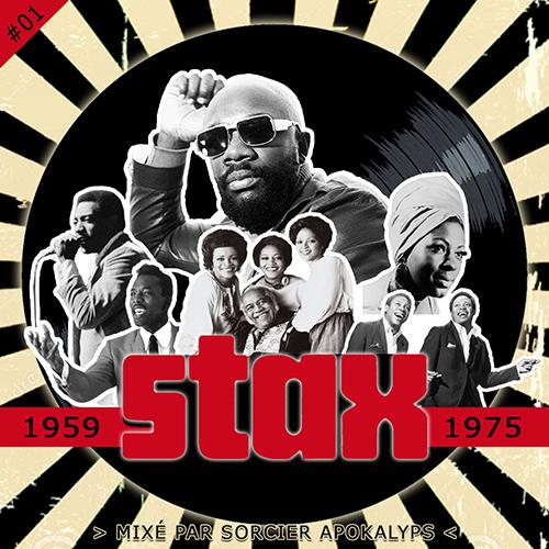 Wesh Conexion - STAX #01 (1959-1975), l'histoire du label de Memphis (recto) (by Sorcier Apokalyps)