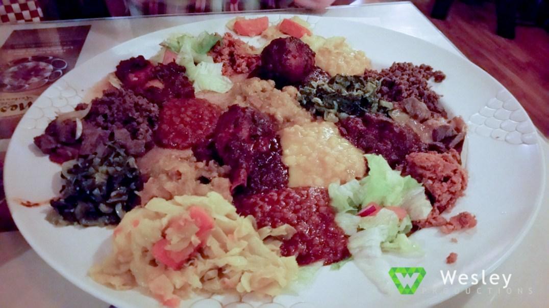 Sample Platter - Messob Ethiopian Restaurant