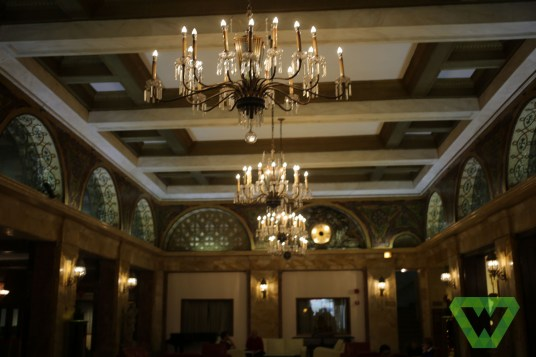 The Congress Hotel Lobby