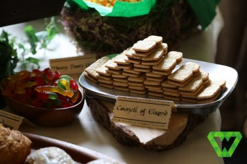 EL Fudge cookies as the Council of Elrond