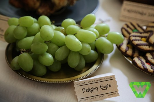 Dragon Eyes - Grapes. We tried several varieties and colors.