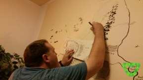 drawing the map