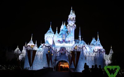 Christmas in Disneyland