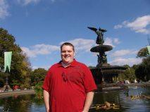 Bethesda Fountain in NY Central Park